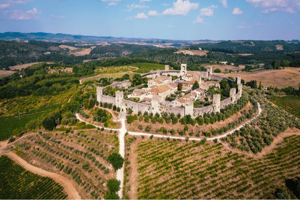 Panorama di Monteriggioni